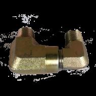 """Elbow Steel 1/4"""" Male x 1/4"""" Male 180*"""