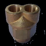 """Interpump Double Nozzle Holder 1/4"""""""
